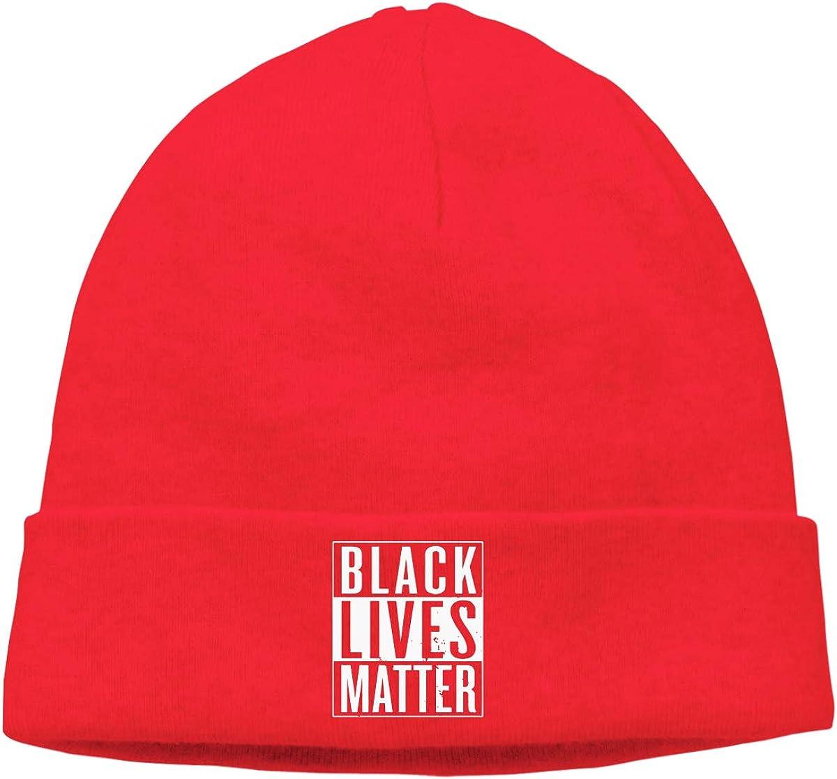 Men Women Black Lives Matter Soft Knit Hats