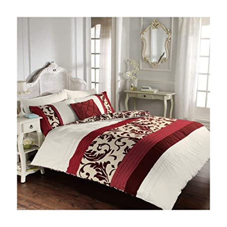 Luxury Duvet Cover King Size Kingsize With Pillowcases Quilt Bedding Set  Reversible Poly Cotton d6b94d411