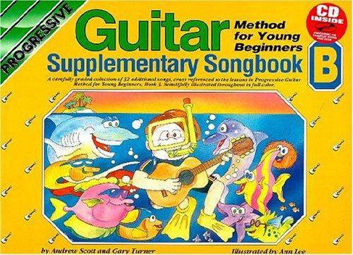 (YOUNG BEGINNER GUITAR METHOD SUPPLEMENTARY SONGBOOK B BK/CD (Progressive))