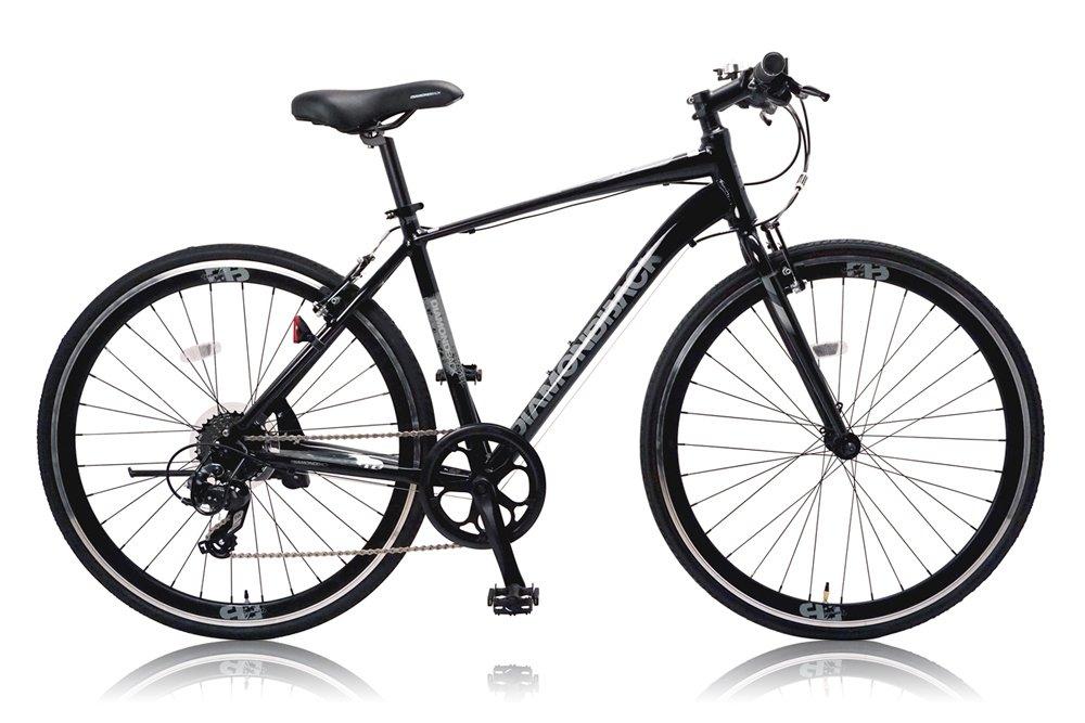 DIAMOND BACK(ダイアモンドバック) 700Cクロスバイク シマノ8段変速 アルミフレーム DB-708AL BLACK(2015) B00WYQ4XEC