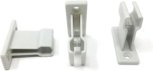 3 Stück Kurbelhalter Weiß Für Gelenkkurbel Bzw Kurbelstange Baumarkt
