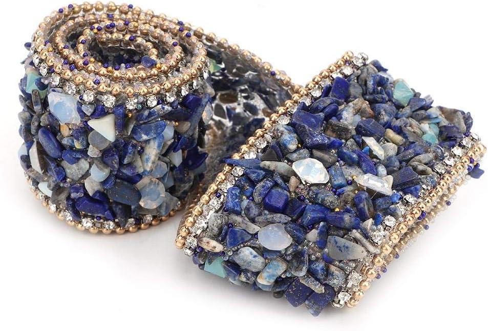HEEPDD 1M Rotolo di Nastro di Diamanti Applique in Strass per Vestiti Borsa Scarpe Decorazione della Festa Nuziale L35MM-2