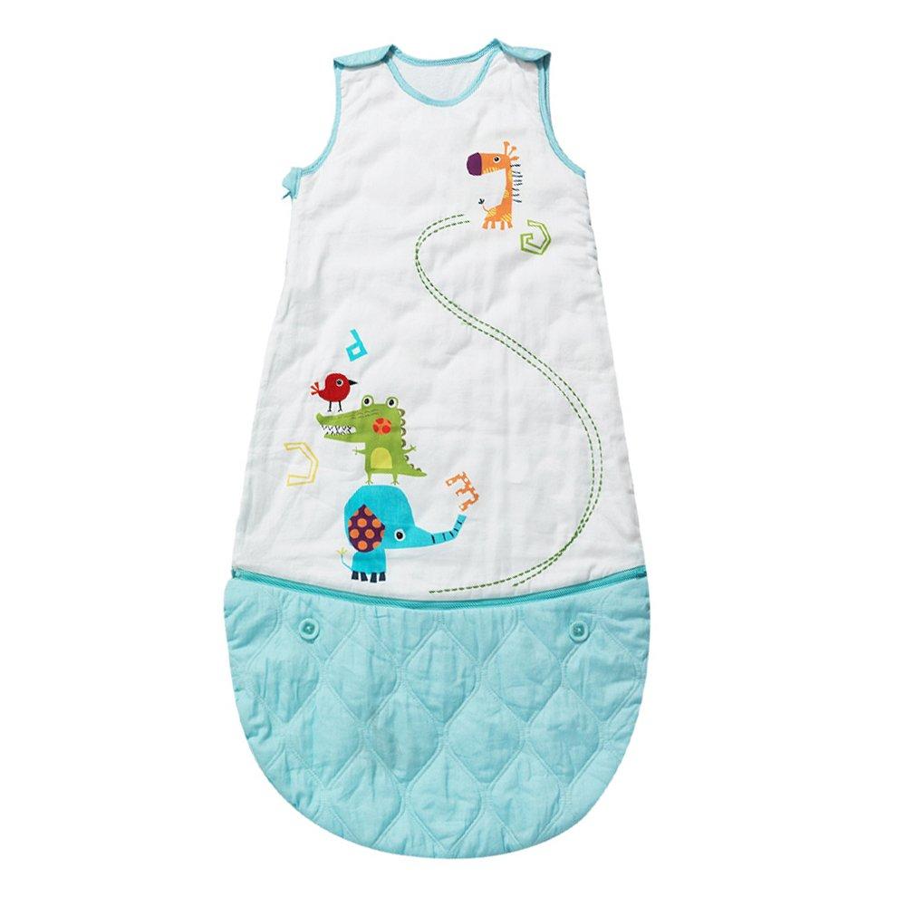 Pink i-baby Organic Cotton Baby Sleeping Bag 4 Seasons Wearable Blanket Baby Slumber Sacks for Children 0-3 Years