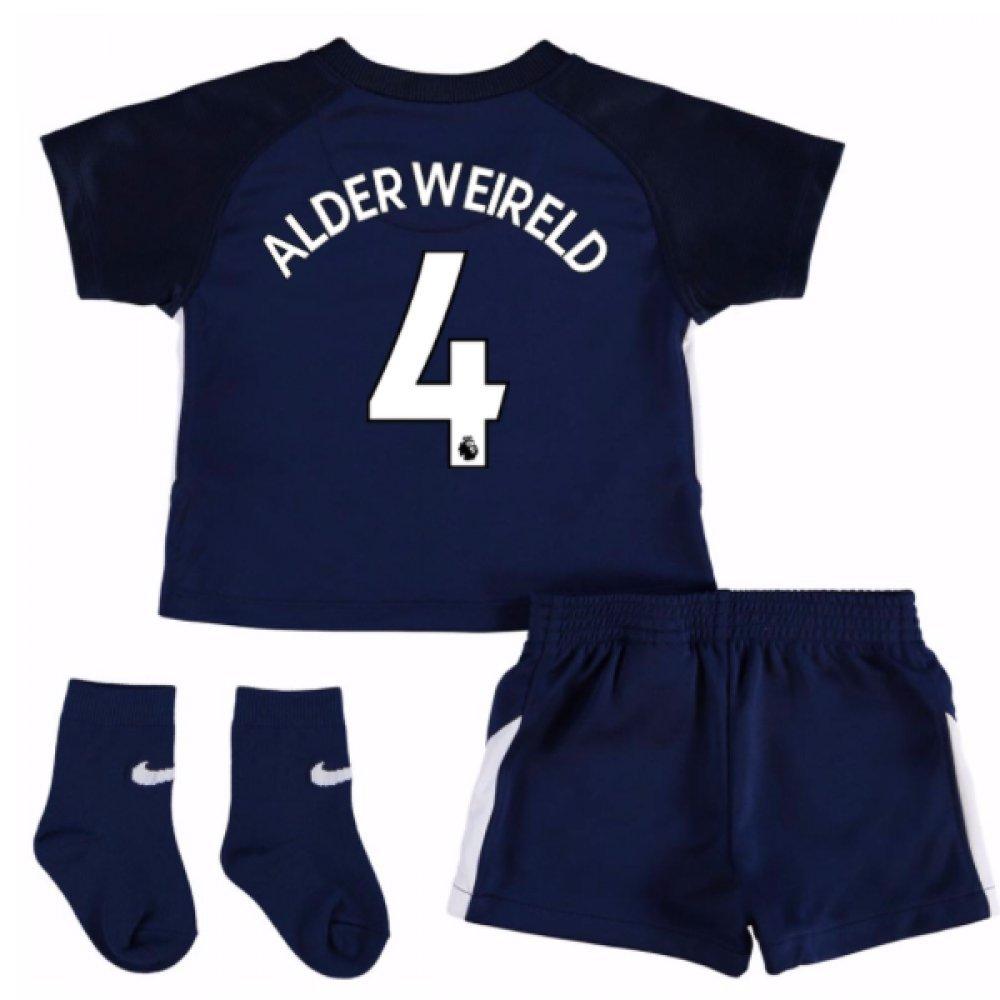 UKSoccershop 2017-18 Tottenham Away Baby Kit (Toby Alderweireld 4)