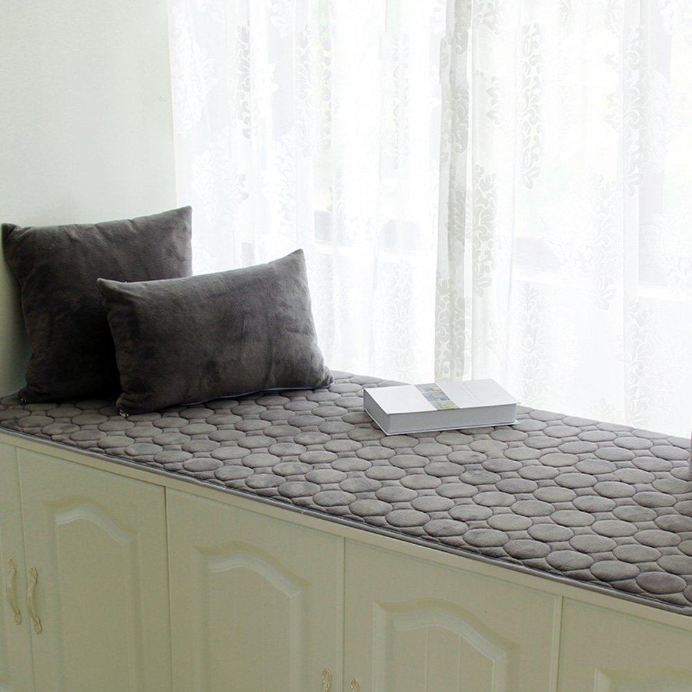 XMZDDZ Thick Bay window cushion,Cover Seats sill pad,Window bench Mat Sofa Mat Rug Bay Tatami Mats Non-slip-I 60x180cm(24x71inch)
