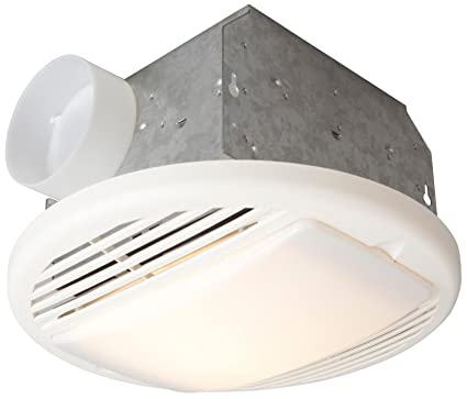 Craftmade TFV50L 50 CFM Bathroom Exhaust Fan Light, White
