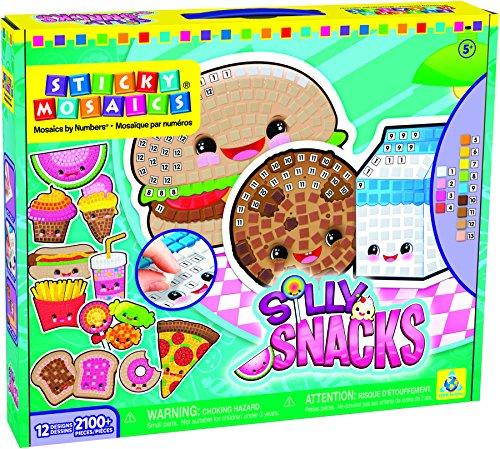 Orb Factory Sticky Mosaics Silly Snacks