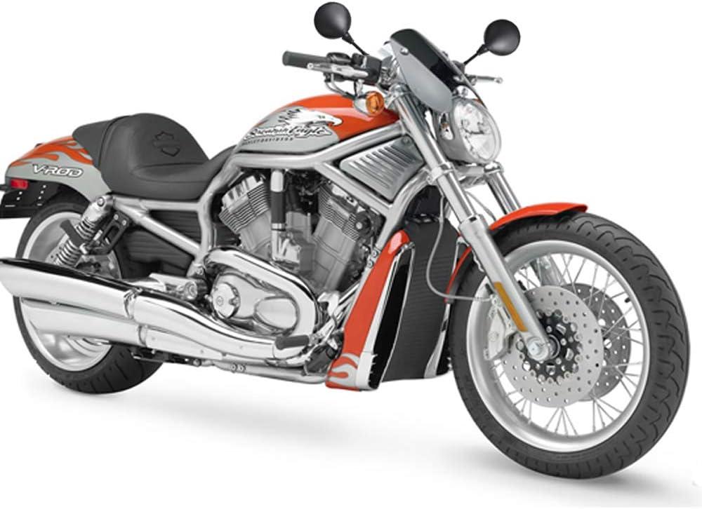 Universal Motorrad R/ückspiegel E-gepr/üft E-Mark Zertifizierter lenkerspiegel Seitenspiegel f/ür BMW Aprilia Kawasaki Suzuki Honda Victory Chopper Quad