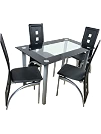 dining table and chair set. Bonnlo  Table Chair Sets Amazon com