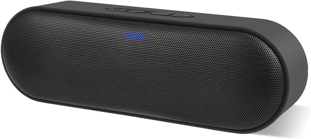 Altavoz Bluetooth Portátil, Altavoz inalámbrico con Sonido ESTÉREO (12 vatios de Altura), Graves Pesados, Tarjeta TF y Alcance Bluetooth de 66 pies, hogar, Exterior, Fiesta, Viajes
