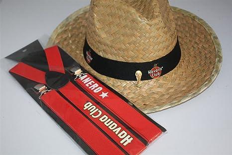 Havana Club WM Summer Set cappello di paglia + bretelle + WM coppa ... e482a8b4c822