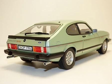 Ford Classic 182719 Norev - 1:18 1982 Ford Capri MK.III 2.8 inyección - Crystal Green Met: Amazon.es: Juguetes y juegos