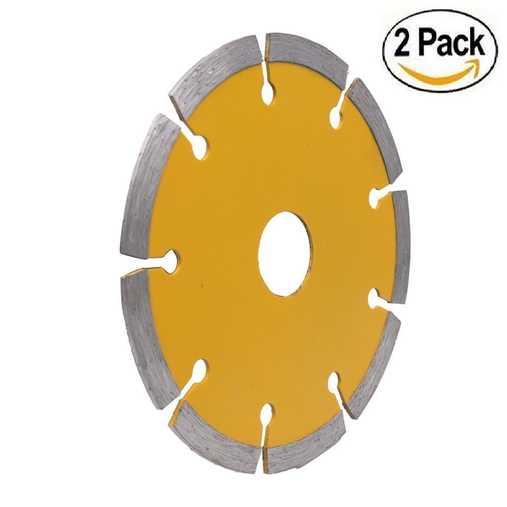 PANOVOS (2PC)4.5 Diamond Angle Grinder Grinding Stone Brick Concrete Ceramic Tiles Dry Cutting Disc Wheel Saw