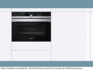 Siemens iQ700 CB674GBS3 - Horno (Medio, Horno eléctrico, 47 L, 47 ...