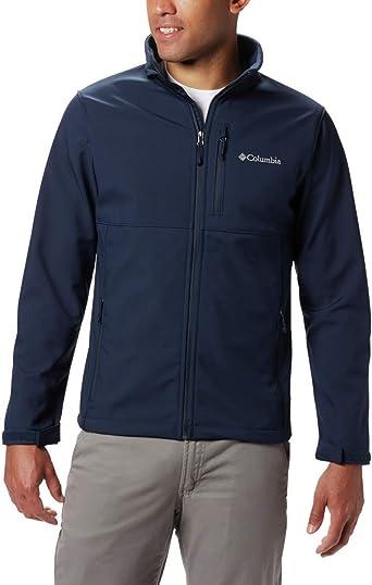 Columbia Men/'s Ascender Soft Shell Jacket Black or Navy S-2XL