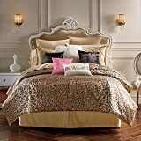 Juicy Couture Cheetah Animal Instinct Twin/Twin XL Comforter Set with Sham 2 Pc