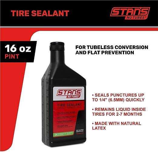 Stan S Notubes Tire Sealent Reifendichtmittel Nachfüllflasche Sport Freizeit