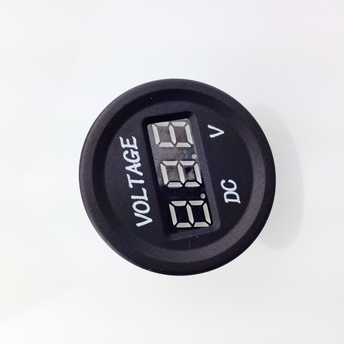 Jili Online 12V 24V Waterproof Car Motorcycle LED Digital Display Voltmeter With Cable by Jili Online (Image #1)