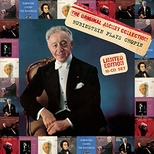 - Arthur Rubinstein: The Original Jacket Collection Rubinstein Plays Chopin