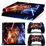 FreeSticker® PLAYSTATION 4 Designer Skin Game Console System 2 Controller Decal Vinyl Protective Stickers Sony PS4 – STAR WARS SPACE FORCE ALL EPISODES