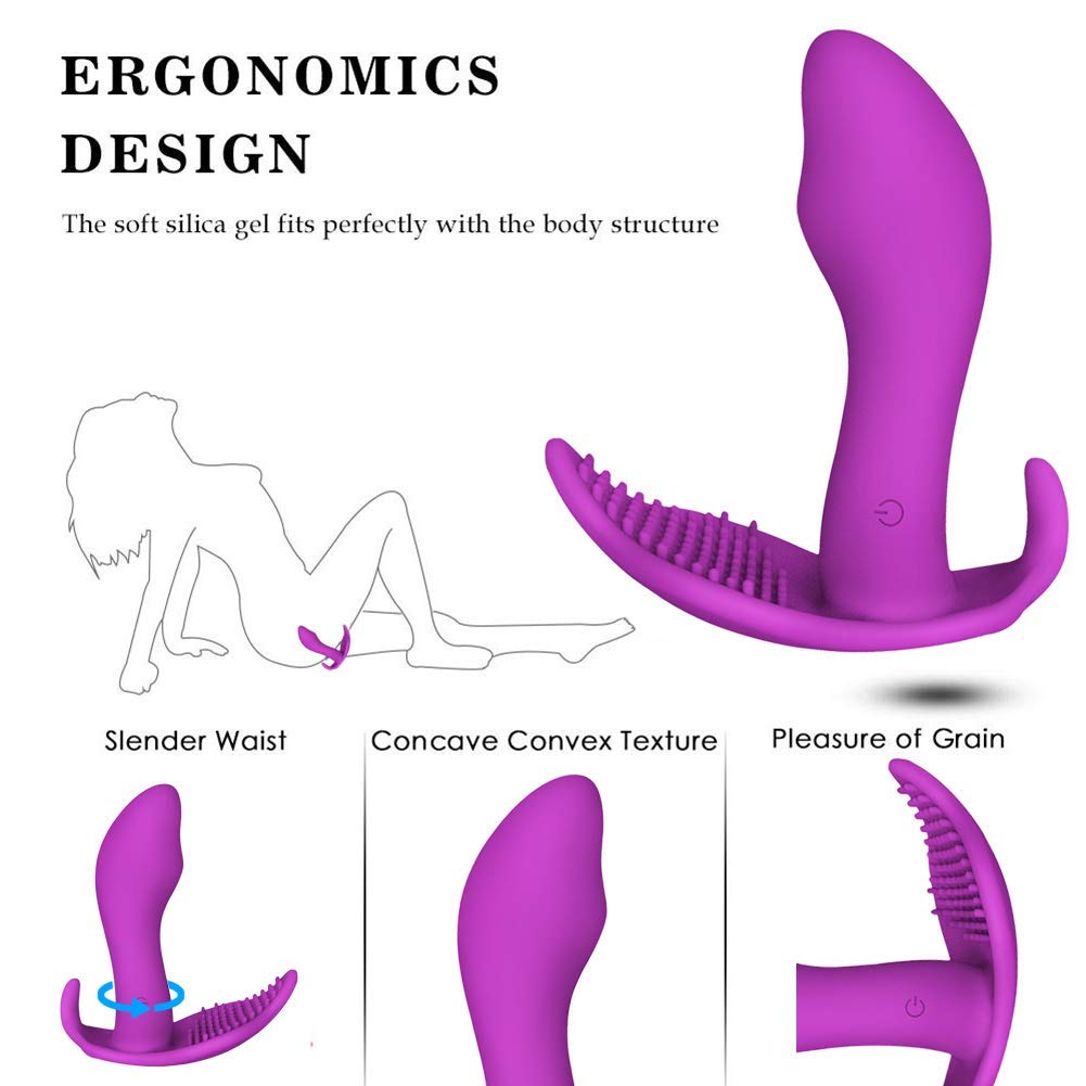 Wearable Female Séx Toys Vibrators with Wireless Remote Control Clitóral G^spot Butterfly Massager Vibrating Panties Smart Heating 10 Kinds Vibration Flirting Díldo Vibrator for Women and Couples