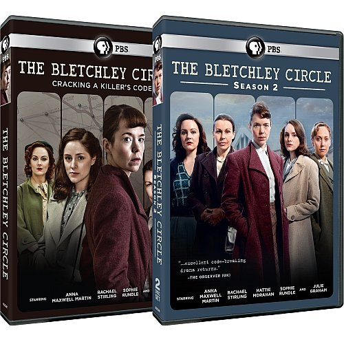 The Bletchley Circle: Complete Seasons 1 & 2 DVD Set (Wishes Circle)