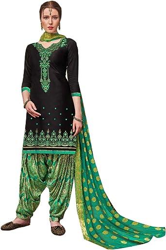 Designer Indian Pakistani Dress Material embroidery Punjabi suit for women Girls