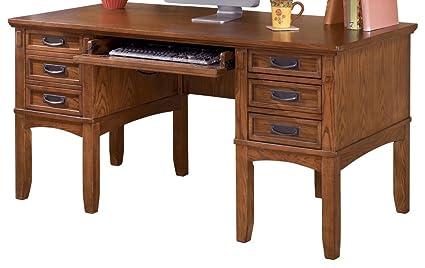 Ashley Furniture Signature Design   Cross Island Storage Office Desk   3  Drawers/1 File