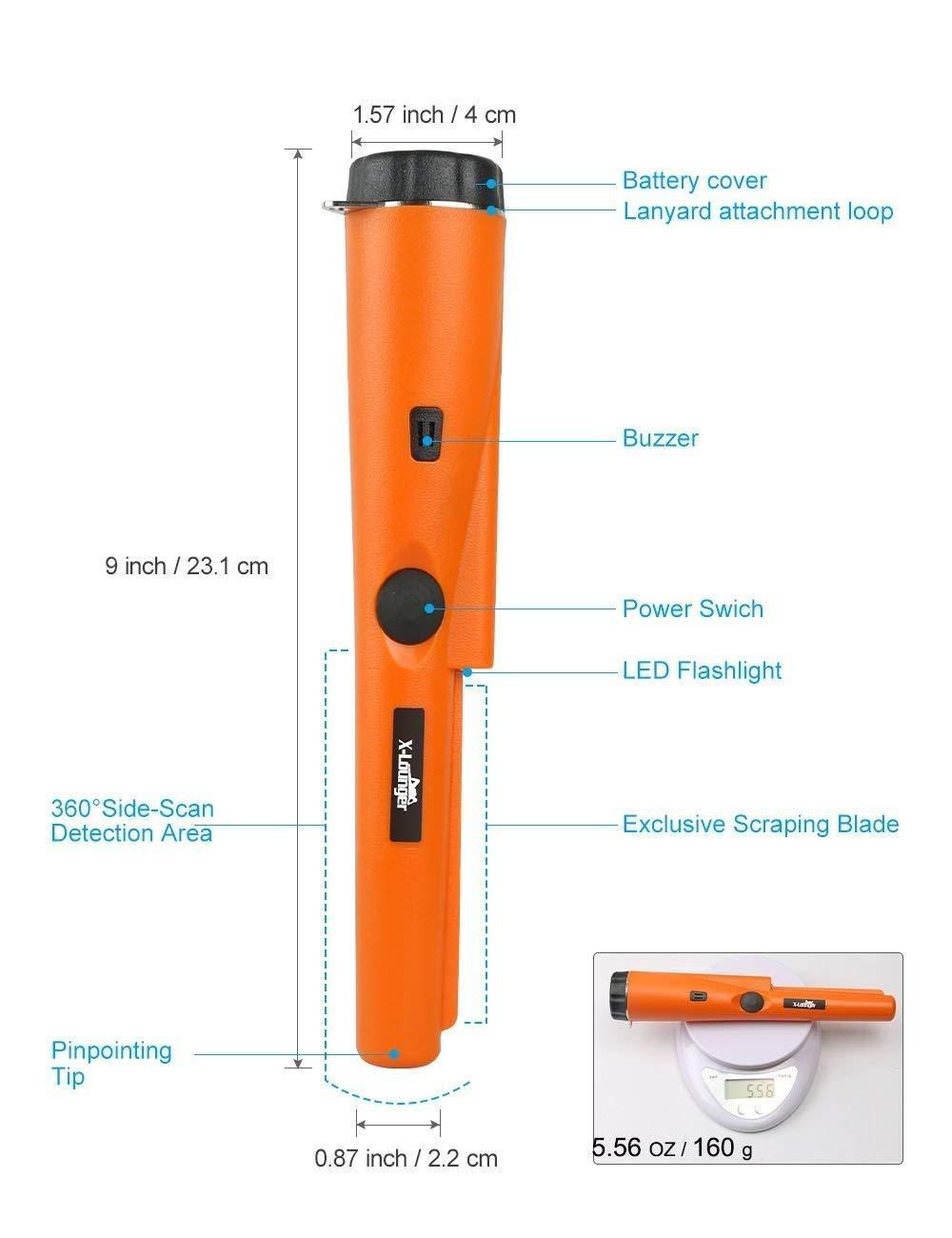 MINELAB X-TERRA 705 Gold Pack - Detector universal de metales: Amazon.es: Jardín