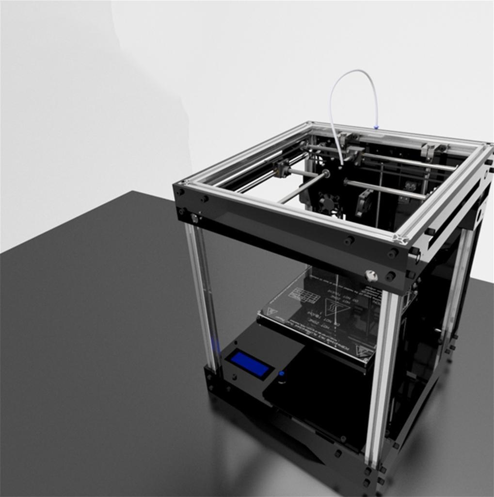 DZW 3D Printer Ultimaker Cross Shaft Structure Equipment Diy Kit ...