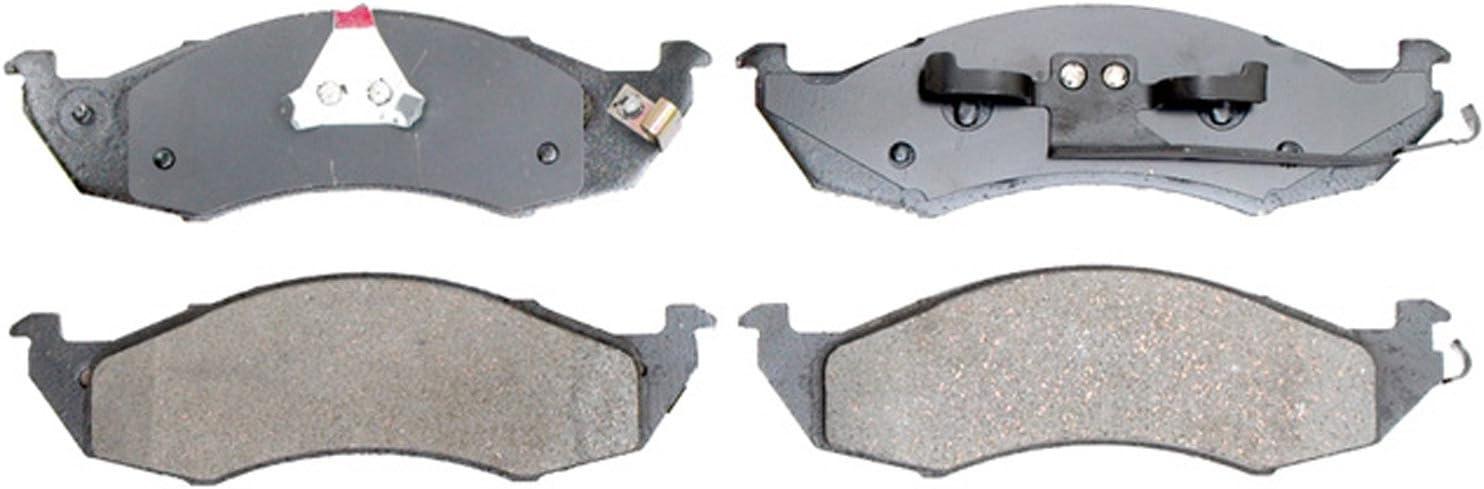 ACDelco 14D935C Advantage Ceramic Rear Disc Brake Pad Set with Wear Sensor