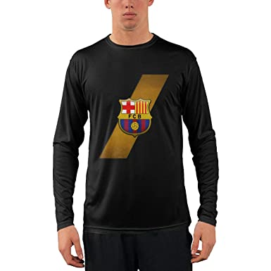 9df2b7c9161 Image Unavailable. Image not available for. Color  FC Barcelona Men s Long  Sleeve T-Shirt ...