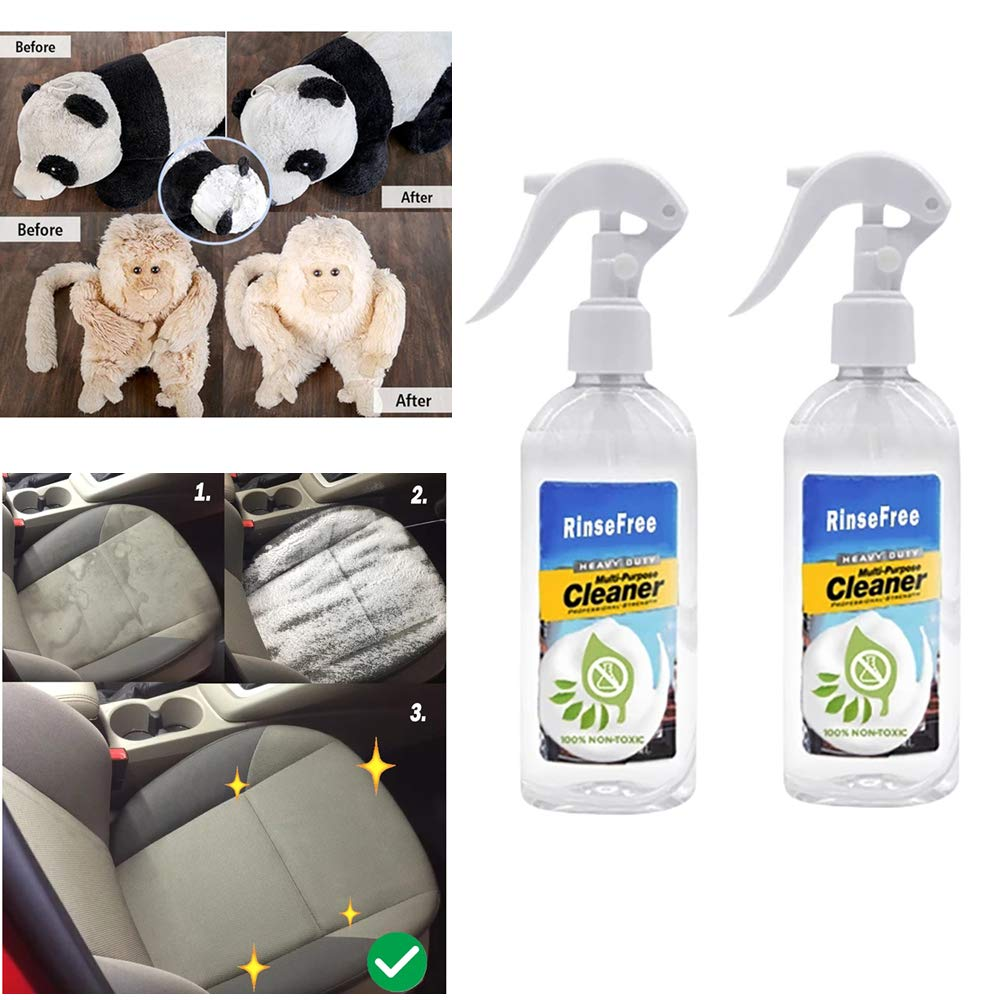 All Purpose Rinse Free Cleaning Spray Cleaner 100ml Fast Safe Rinse Free Fresh Scent Cleaner Dissolve Stubborn Stains Multi Purpose Bubble Cleaner Suitable For All Surface White 2pc Buy Online In Burkina Faso 99amz