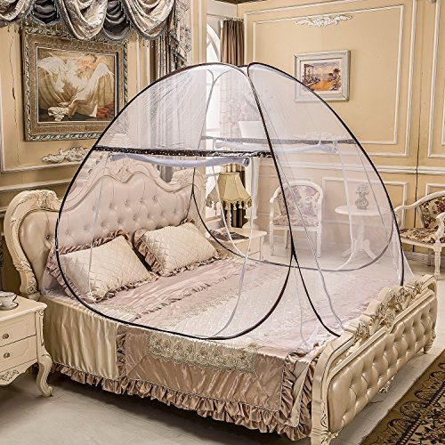 Szuperstuff Portable Mosquito Net for Bed,Pop Up Mosquito Net Tent