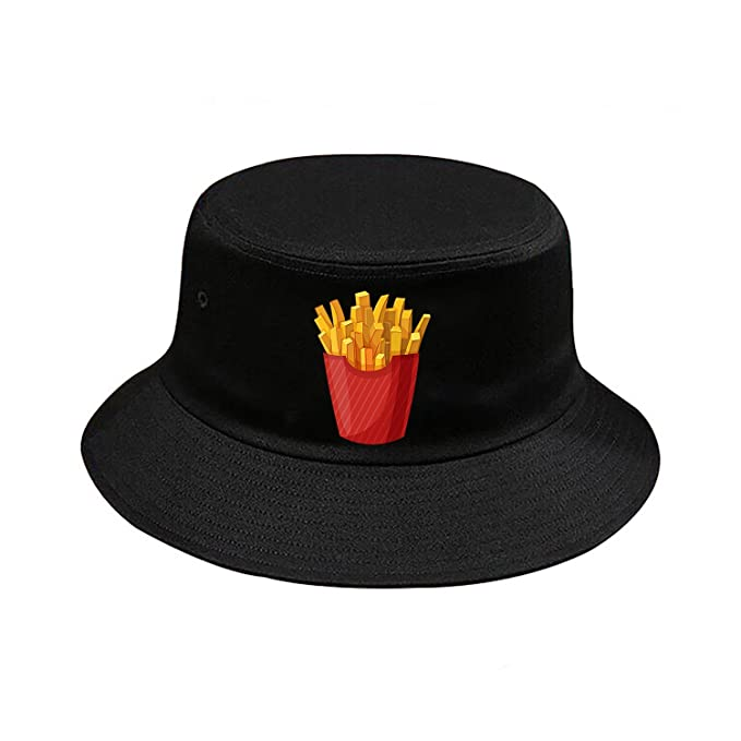 Image Unavailable. Image not available for. Color  French Fries Bucket Hat  ... 014ecf926fb