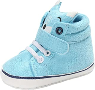 Tenworld Baby Booties, Cute Fox Newborn Infant Girls Boys High Top Sneaker