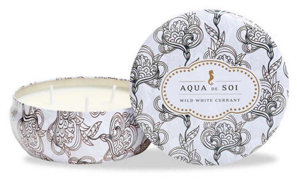 The SOi Company Aqua de SOi 100% Premium Natural Soy Candle, 21 Ounces Triple Wick, Agave Blossom 700801