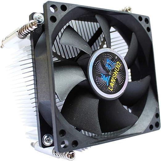 Chengleilei CPU disipador de Calor 1366 de Aluminio de 4 Hilos de ...