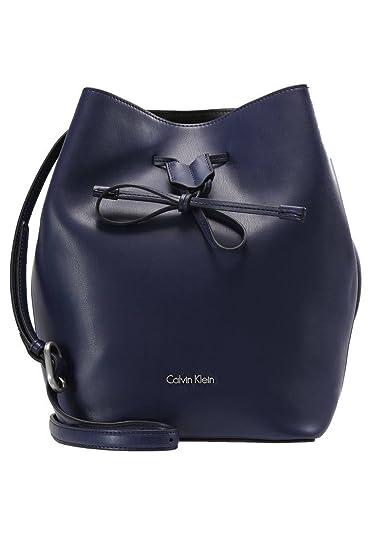 a853f52351 Calvin Klein , Sac bandoulière pour femme Bleu bleu S: Amazon.fr ...