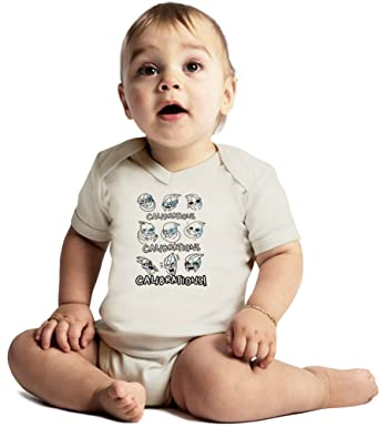 Calibrations Amazing Quality Baby Bodysuit by Benito Clothing - Made From  100% Organic Cotton- 515c74d9e