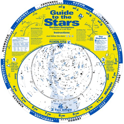 Guide to the Stars (Maps Star Charts Constellation)