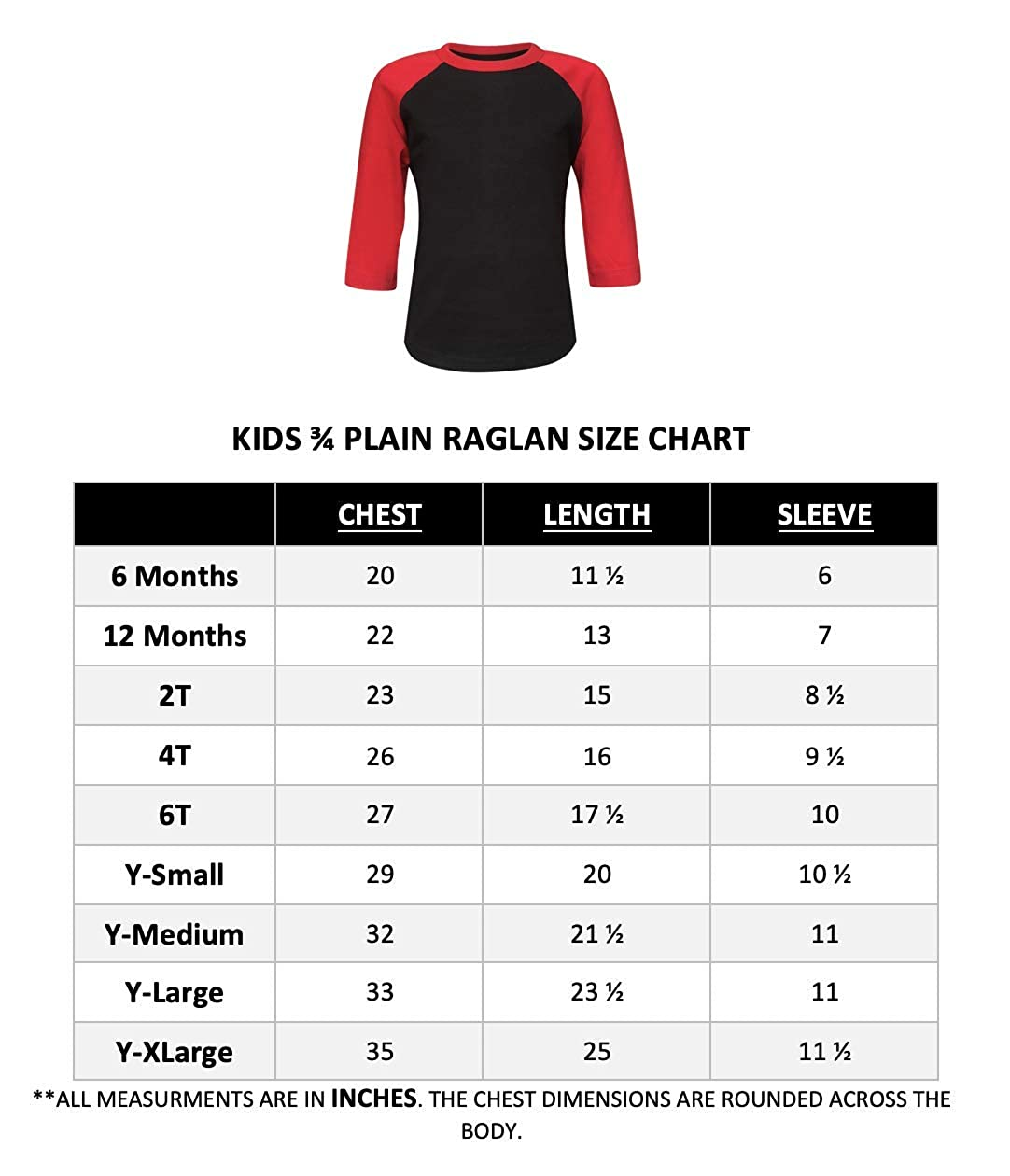 20+ Colors ILTEX Kids /& Youth Baseball Raglan T-Shirt 3//4 Sleeve Infant Toddler Youth Athletic Jersey Sports Casual