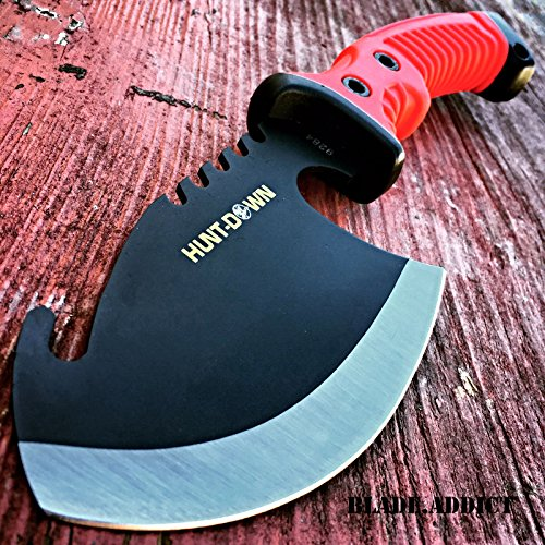 10.5 RED TACTICAL SURVIVAL TOMAHAWK G'STORE THROWING AXE BATTLE Hatchet knife hunting