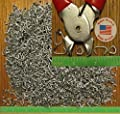 """USA 1/2"""" Galv Hog Rings Net Attachment fence cage Car Upholstery"""