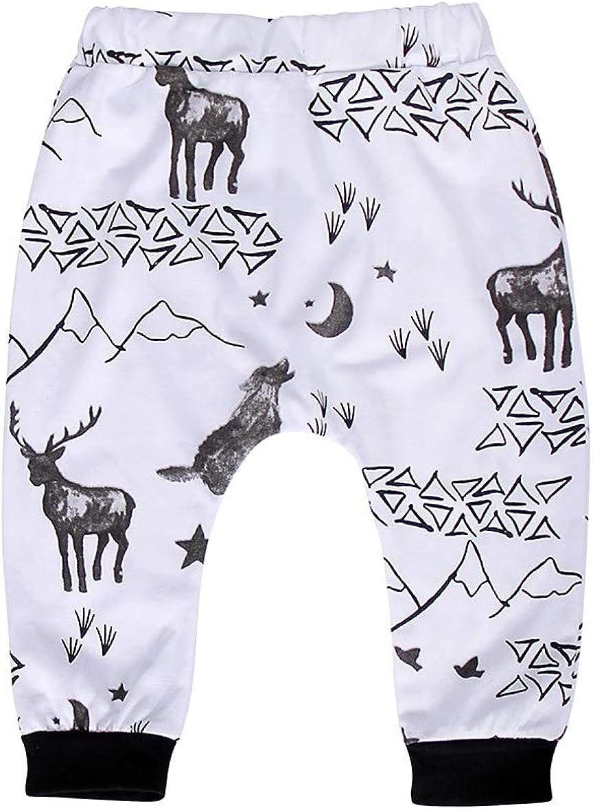 Jurebecia Newborn Baby Boy Clothes Letter Print Romper+Long Pants+Hat Outfits Set