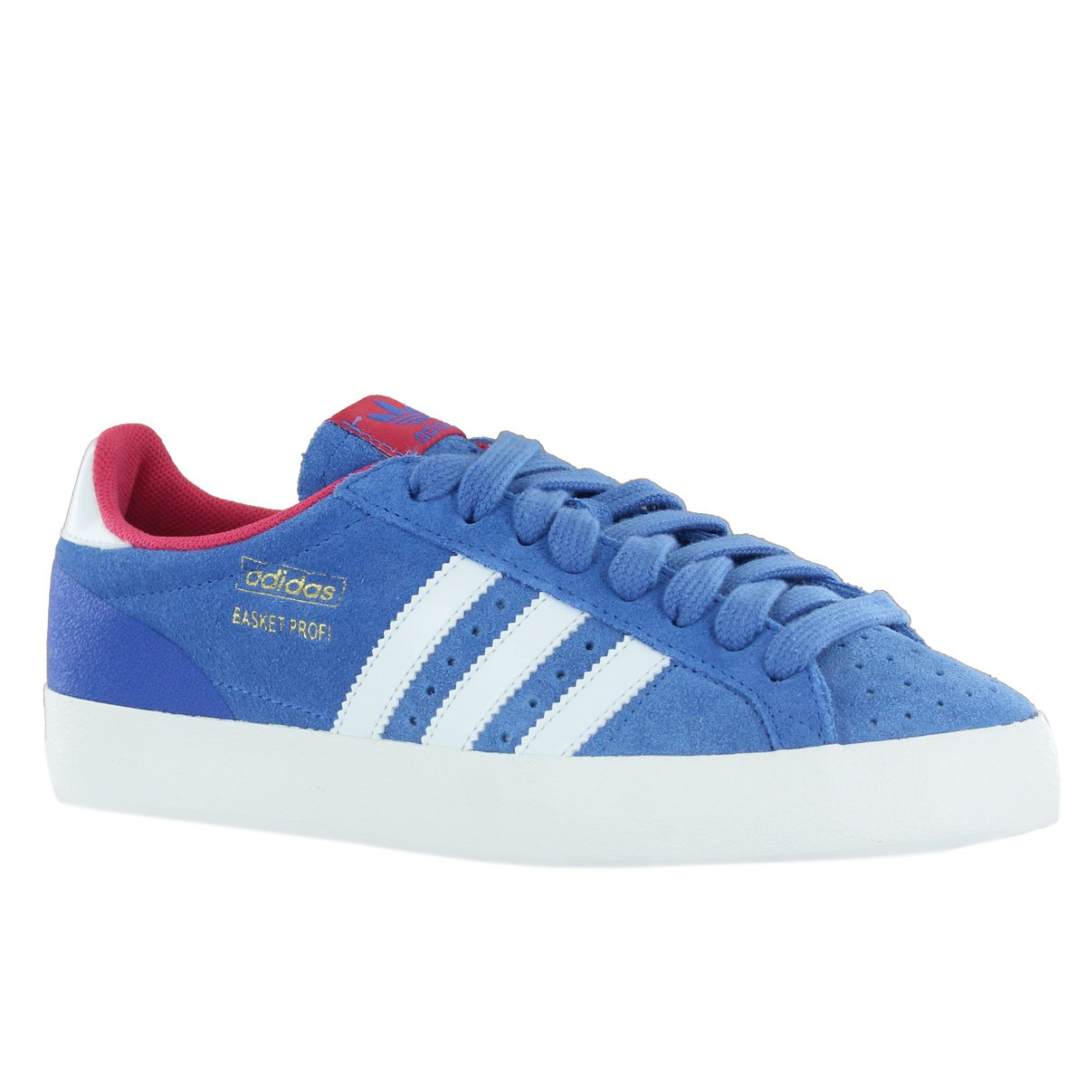 on sale 1ad9b fe353 Adidas Basket Profi Lo Blue White Womens Trainers Size 7 UK Amazon.co.uk  Shoes  Bags