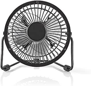 Ansim - Ventilador de enfriamiento portátil de metal para