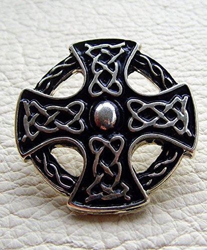 Kilt Tasche Sporran Kreuz der Kelten Farbe hell braun