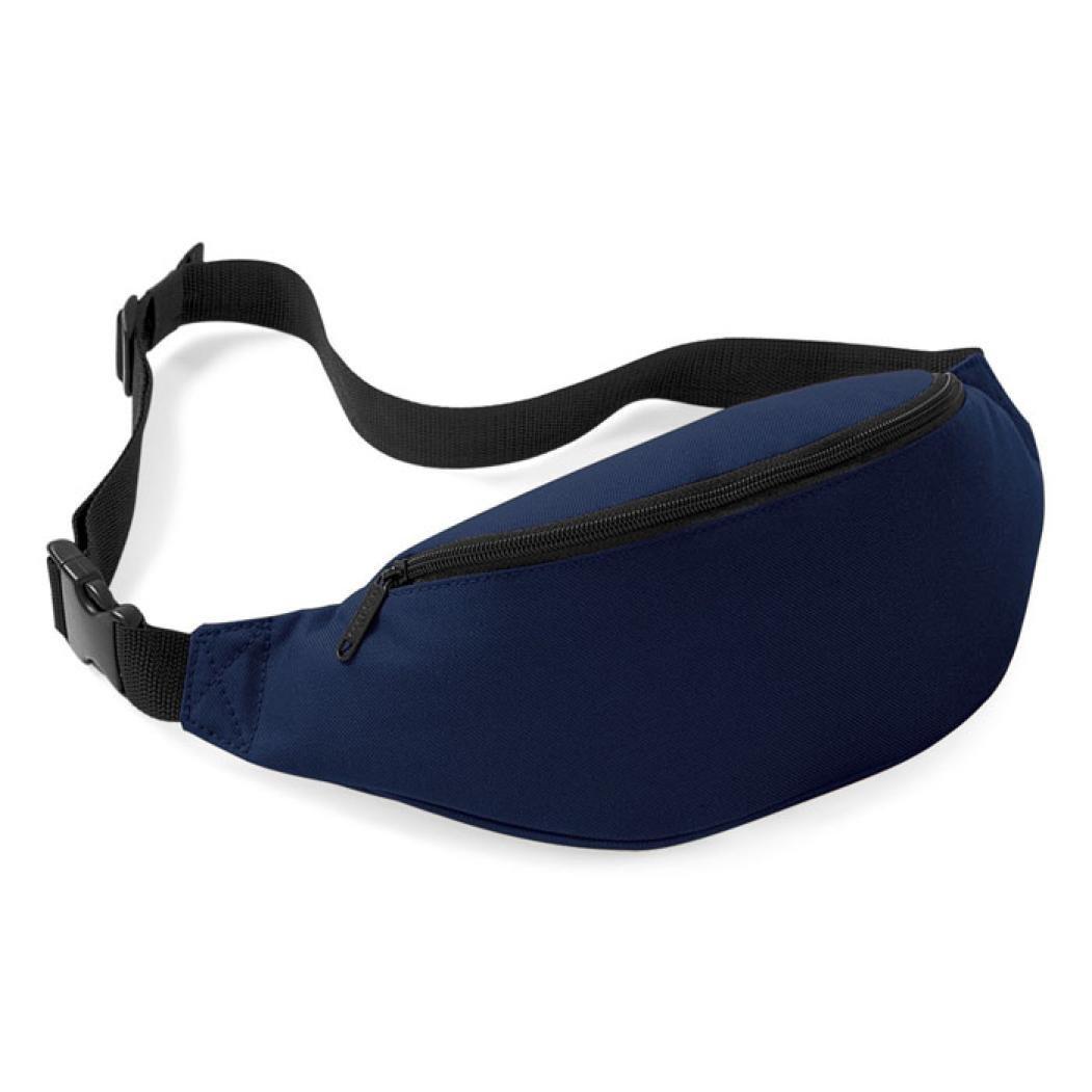 Pocciol Fashion Unisex Handy Waist Belt Zip Bag Travel Hiking Sport Fanny Pack Pouch (I)