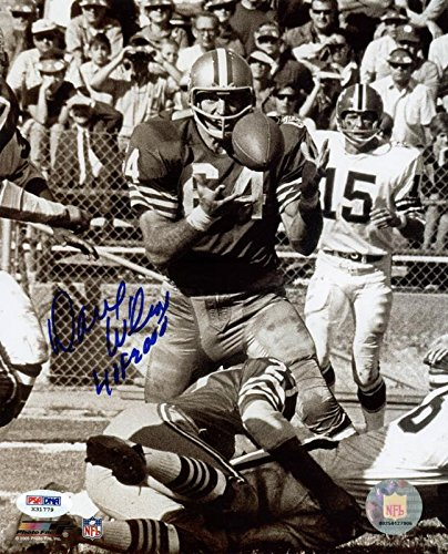 49Ers Dave Wilcox 'HOF 2000' Signed Authentic 8X10 Photo PSA/DNA (2000 Press Photo)